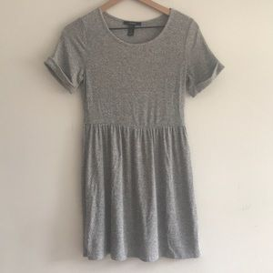 Forever 21 Solid Gray Summer Dress Size M